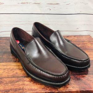 Tommy Hilfiger Classics Mens Leather Mahogany 10M